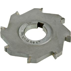 "Carbide Tip Side Mill Cutter, 4"" x 3/8"" x 1-1/4"" B - 8T"