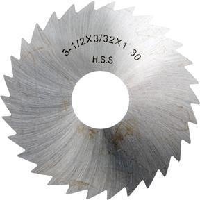 """HSS Slitting Saws - 2-1/2"""" x 1/8"""" x 7/8"""" 28T"""
