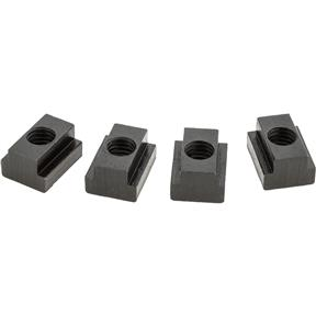 "T-Slot Nuts, pk. of 4, 9/16"" Slot, 1/2"" - 13"