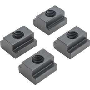"T-Slot Nuts, pk. of 4, 5/8"" Slot, 1/2"" - 13"