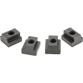 "T-Slot Nuts, pk. of 4, 11/16"" Slot, 1/2"" - 13"