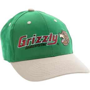 Green Hat w/ Grizzly® Logo - Springfield