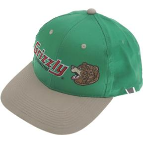 Green Hat w/ Grizzly Logo - Bellingham