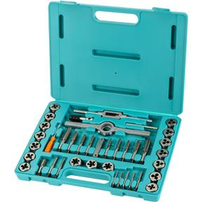 39-Pc. Metric HSS Tap & Die Set