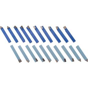 "Carbide-Tipped Tool Bit Sets - 1/2"" 20 pc."