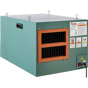 Heavy-Duty Double Air Filter with Remote Control