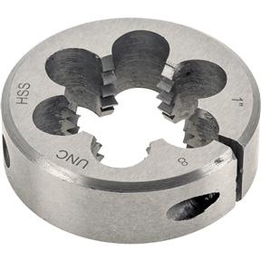"HSS Round Adjustable Split Die - 1""-8 x 2"""