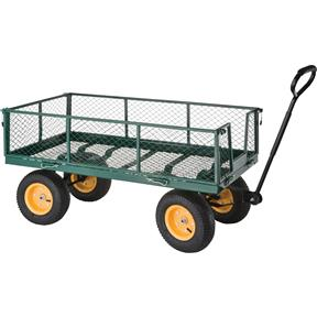 Folding Side Garden Wagon