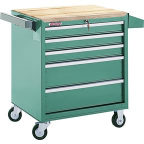 5 Drawer Roll-Cabinet w/ Ball Bearing Slides