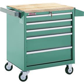 5 Drawer Roll-Cabinet w/ Ball Bearing Slides