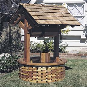 Paper Project Plans to Build a Wishing Well