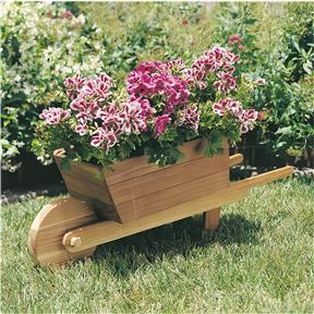 Paper Project Plans to Build a Wheelbarrow Planter