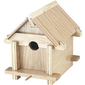 Paper Project Plans to Build a Birdhouse