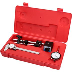 Magnetic Base, Dial Indicator, Caliper Combo pk.