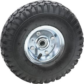 "10-1/4"" x 3-1/4"" Rubber Tire"