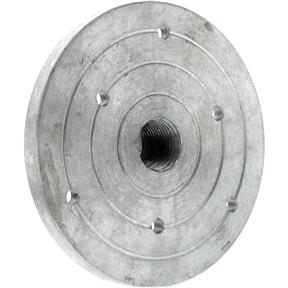 """Aluminum Faceplate - 4"""" x 3/4"""" x 16 TPI"""