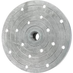 """Aluminum Faceplate - 6"""" x 3/4"""" x 16 TPI"""