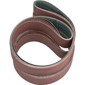"""2"""" x 72"""" A/O Sanding Belt 120 Grit, 10 pk."""