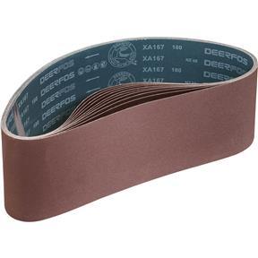 """6"""" x 48"""" A/O Sanding Belt 180 Grit, 10 pk."""