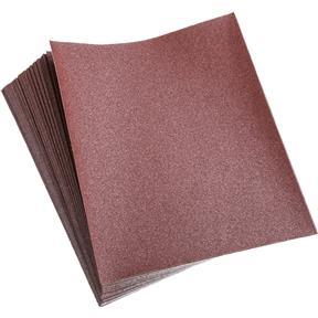 "9"" x 11"" A/O Sanding Sheets, 100 Grit A Paper, 50 pk."