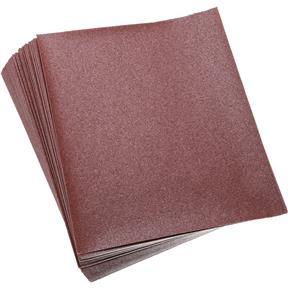 "9"" x 11"" A/O Sanding Sheets 120 Grit A Paper, 50 pk."