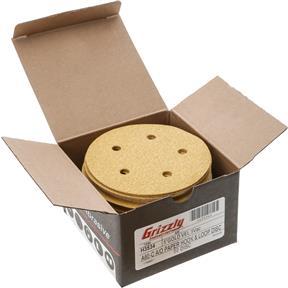 "5"" A/O Sanding Disc, 60-C Grit H&L 5 Hole, 50 pk."