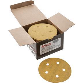 "5"" A/O Sanding Disc, 80-C Grit H&L 5 Hole, 50 pk."