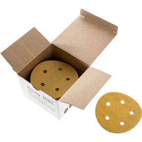 "5"" A/O Sanding Disc, 100-C Grit H&L 5 Hole, 50 pk."