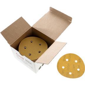 "5"" A/O Sanding Disc, 120-C Grit H&L 5 Hole, 50 pk."