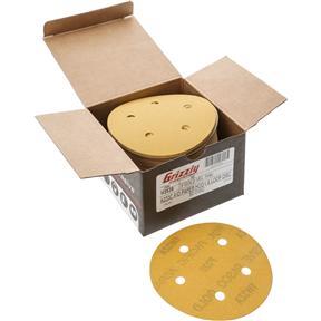 "5"" A/O Sanding Disc, 220-C Grit H&L 5 Hole, 50 pk."