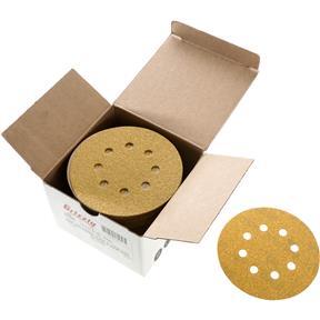 "5"" A/O Sanding Disc, 60-C Grit H&L 8 Hole, 50 pk."