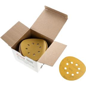 "5"" A/O Sanding Disc, 180-C Grit H&L 8 Hole, 50 pk."