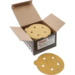 "5"" A/O Sanding Disc, 80-C Grit PSA 5 Hole, 50 pk."