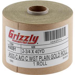 "2-3/4"" x 120' A/O Sanding Roll 500-C Grit"