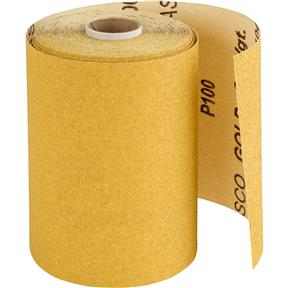"4-1/2"" x 30' A/O Sanding Roll 100-C Grit"