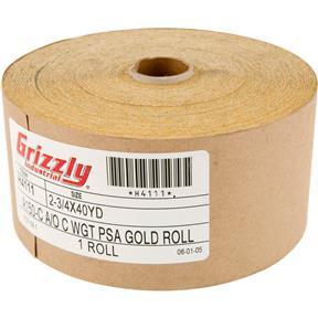 "2-3/4"" x 120' A/O Sanding Roll 150-C Grit, PSA"