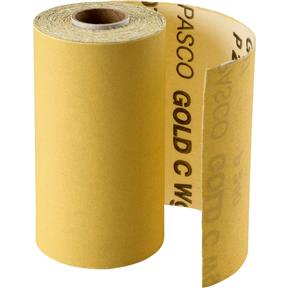 "4-1/2"" x 30' A/O Sanding Roll 240-C Grit, PSA"
