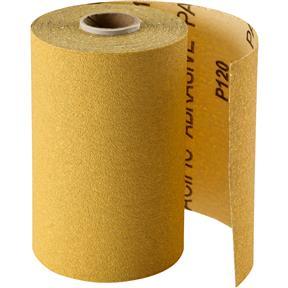 "4-1/2"" x 30' A/O Sanding Roll 120-C Grit, PSA"