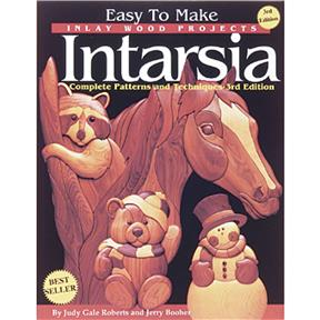 Easy To Make Inlay Wood Projects Intarsia - Book