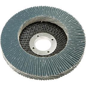 """4-1/2"""" x 7/8"""" Z/A Flap Disc, Type 29, 120 Grit"""