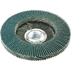 "4-1/2"" x 5/8""-11 Z/A Flap Disc, Type 29, 60 Grit"