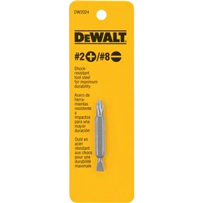 #2 Phillips/#8 Slotted Double Ended Bit