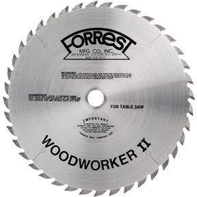 "12"" x 1"" 40t ATB .125 Ripping Blade"