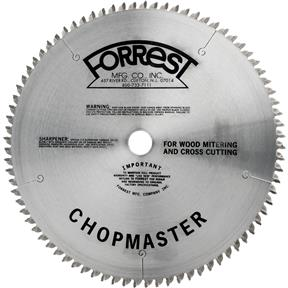 "12"" x 1"" 80t ATB .115 Cut-Off Saw Blade"