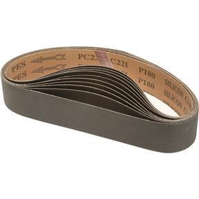 """2"""" x 27"""" S/C Sanding Belt 180 Grit, 10 pk."""