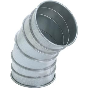 "8"" 45 Deg Industrial Dust Collection Elbow"