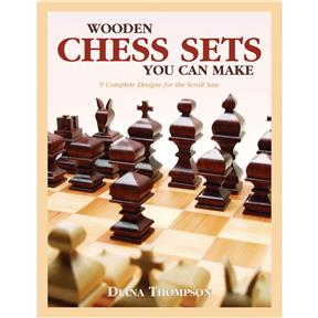 Wooden Chess Sets You Can Make - Book