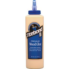 II Premium Wood Glue, 16 oz.