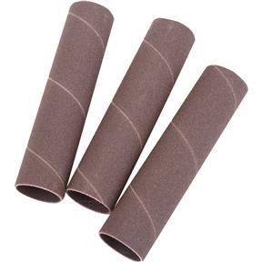 """1"""" Dia. x 4-1/2"""" A/O Hard Sanding Sleeve, 150 Grit, 3 pk."""