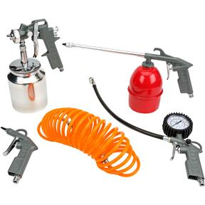 5 pc. Spray/blow Gun Kit